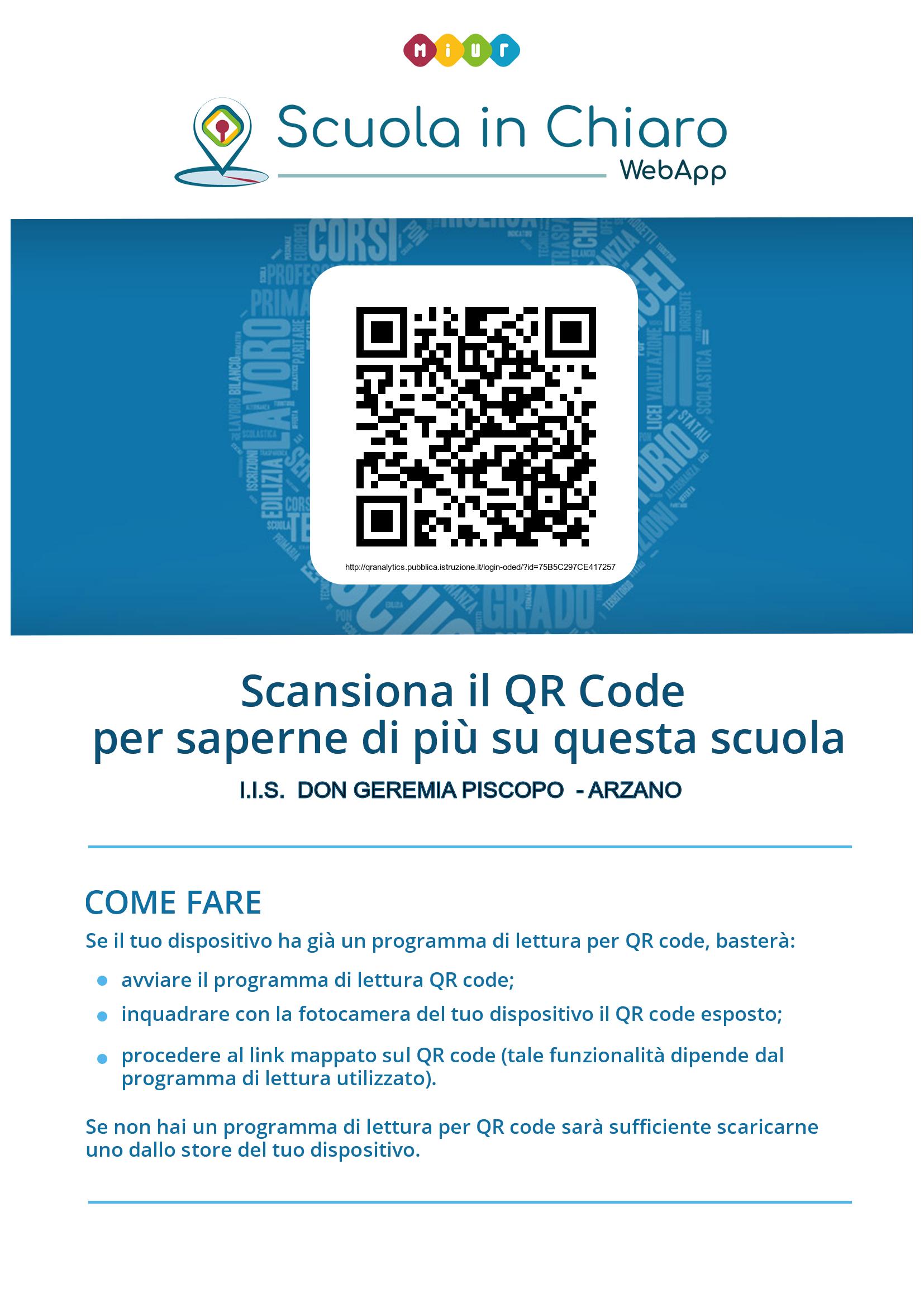 QR Code I.I.S. Don Geremia Piscopo