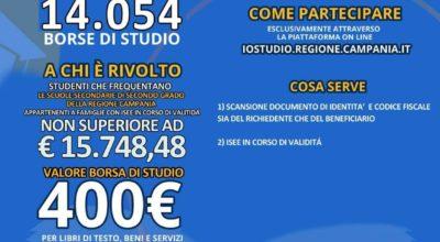 BORSE DI STUDIO REGIONE CAMPANIA